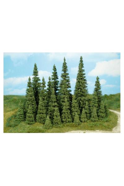 Heki 2181 Набор деревьев 25шт 5-12см