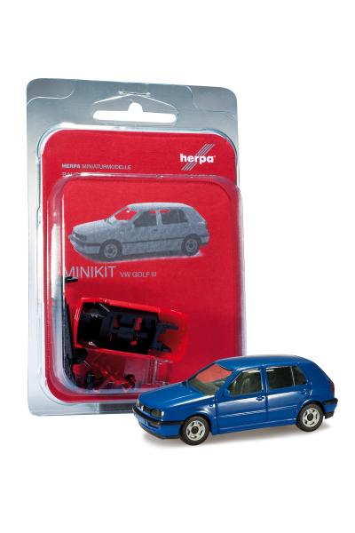 Herpa 012355-008 Автомобиль MiniKit VW Golf III 1/87