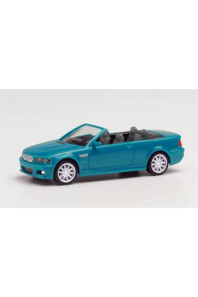 Herpa 022996-002 Автомобиль BMW M3 Cabrio 1/87