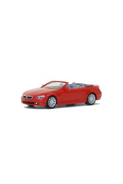 Herpa 023245-002 Автомобиль BMW 6er Cabrio 1/87