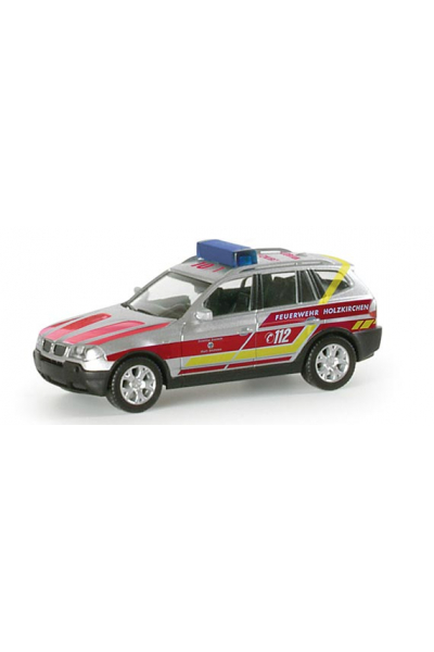 Herpa 048408 Автомобиль BMW X3 Feuerwehr Holzkirchen Epoche VI 1/87