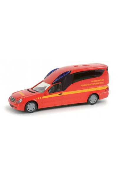 Herpa 048538 Автомобиль Mercedes-Benz Binz A 2003 KTW Feuerwehr Epoche VI 1/87