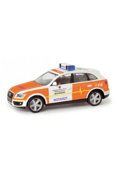 Herpa 048606 Автомобиль Audi Q5 Rettungsdienst Marsberg Epoche VI 1/87