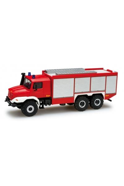"""Herpa 049498   Mercedes-Benz Zetros Rostwagen 6x6 """"Feuerwehr"""""""