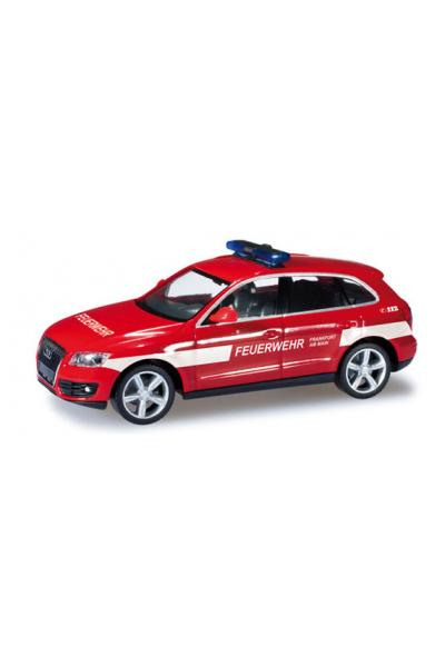 Herpa 049818 Автомобиль Audi Q5 Feuerwehr Frankfurt Epoche VI 1/87