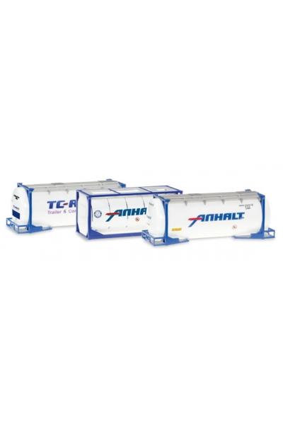 Herpa 076500-004 Набор контейнеров 3шт 1/87