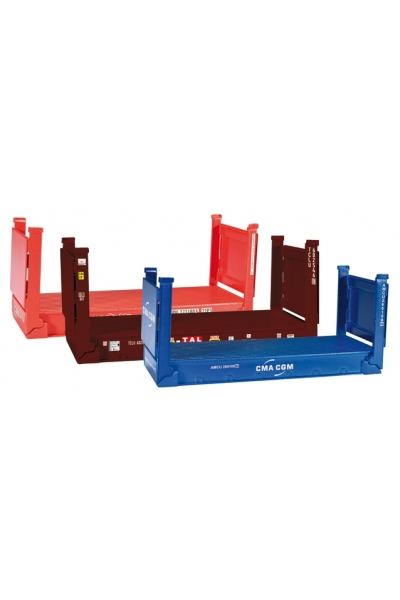 Herpa 076579 Flatcontainer 3шт.