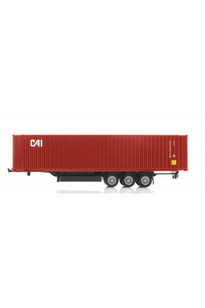 Herpa 076791 Прицеп с контейнерам 45ft CAI 1/87