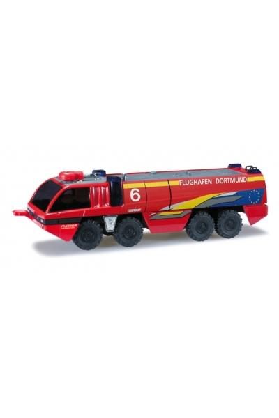 Herpa 090285 Аэродромная пожарная машина Rosenbauer Panther 8*8 Feuerwehr Dortmund 1/87