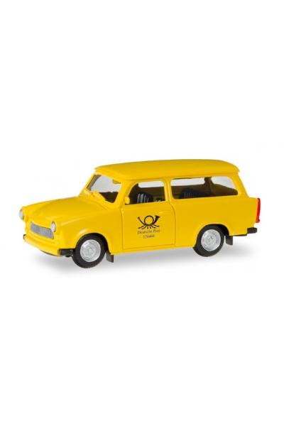Herpa 093095 Автомобиль Trabant 601 Universal Deutsche Pos Epoche III-V 1/87
