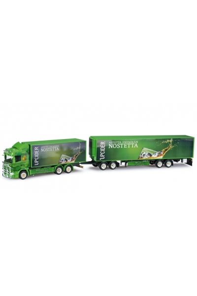 """Herpa 303170 Scania R HL Koffer-EuroCombi """"Ristimaa Wild Perry"""" (FIN)"""