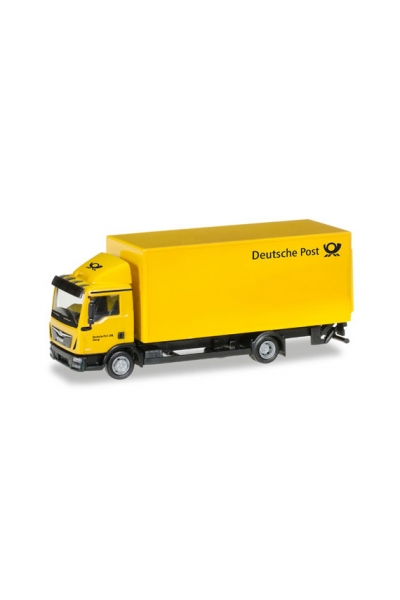 Herpa 308212 Автомобиль MAN TGL Koffer-LKW Deutsche Post 1/87