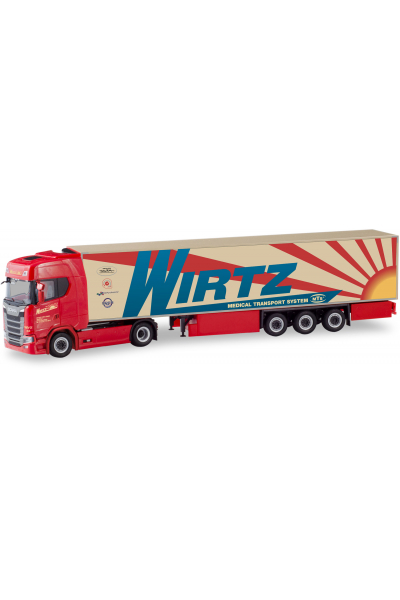 Herpa 310420 Автомобиль Scania CS 20 HD Wirtz 1/87