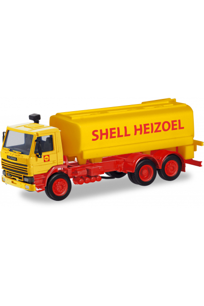 Herpa 310956 Автомобиль Scania 112 Tank Shell 1/87