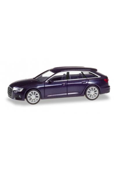 Herpa 430647-003 Автомобиль Audi A6 Avant 1/87