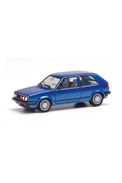 Herpa 430838 Автомобиль VW Golf II GTI mit Sportfelgen 1/87