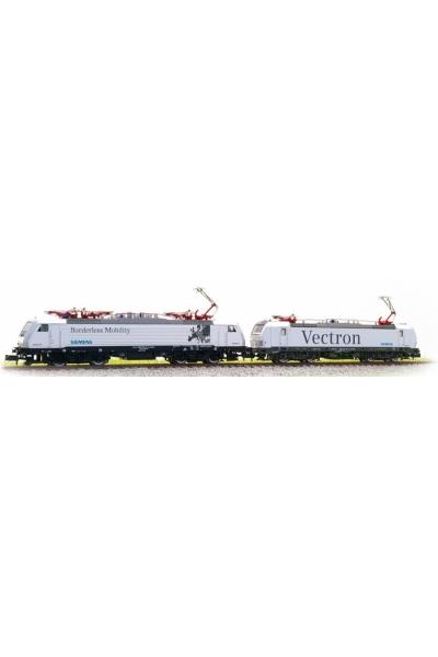 Hobbytrain 2965 Набор электровозов BR193+189 Siemens  Epoche VI 1/160