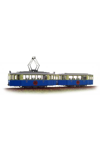 Kato 30933 Трамвай Duwag Munchen Jagermeister Epoche II 1/87