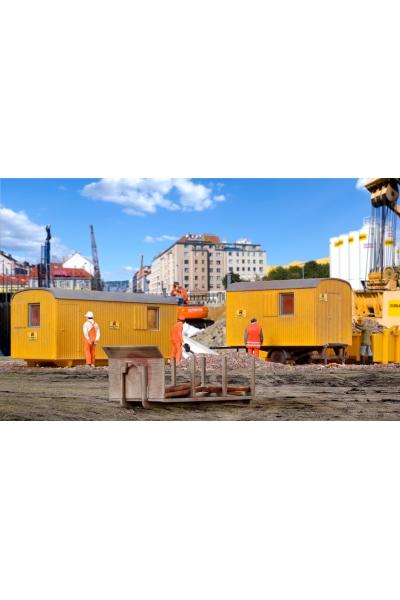 Kibri 15700 Набор строительных контейнеров 1/87