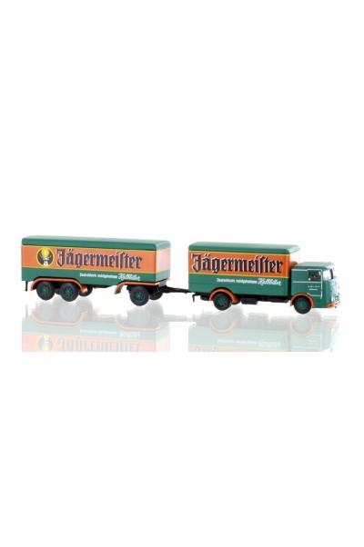 Minis 3617 Автомобиль Bussing LU11-16 Hangerzug Jagermeister 1/160
