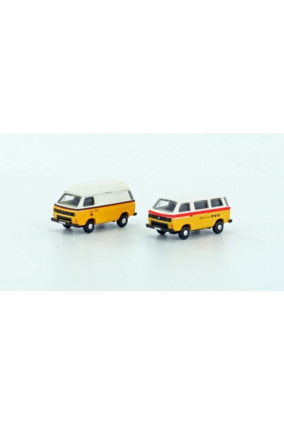 LC 4315 Набор автомобилей VW T3 2er Set PTT Epoche IV 1/160
