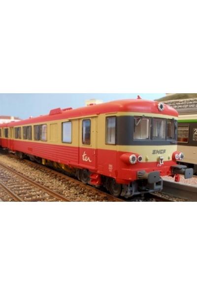 LS Models  10032  Дизельпоезд X4567+XR8380 TER SNCF Epoche V 1/87