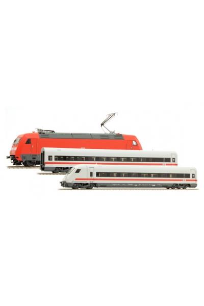LSM 16042+46045+46046 Набор электровоз 101 + 7 вагонов DB-AG Epoche V 1/87