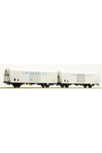 LSM 30225 Набор вагонов Ibbes INTERFRIGO SNCF Epoche IV 1/87