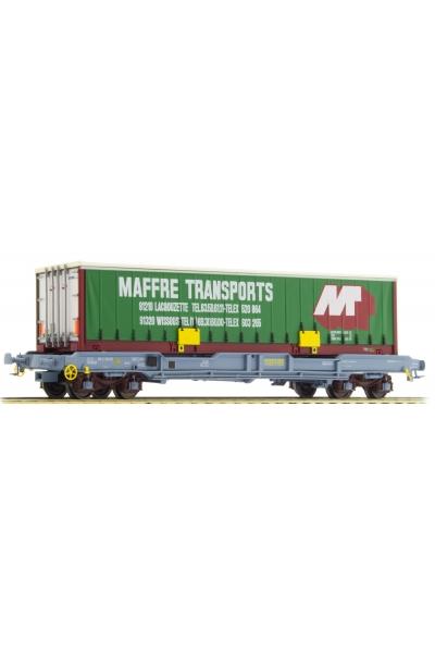 LSM 30298 Вагон платформа Typ K1 Maffre Transports SNCF Epoche V 1/87