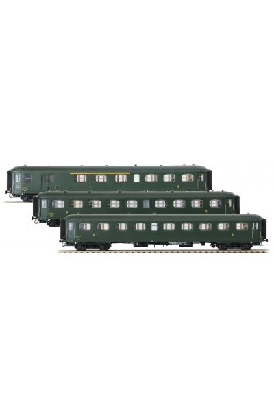 LSM 40189 Набор пассажирских вагонов Rapide Nord SNCF Epoche III 1/87