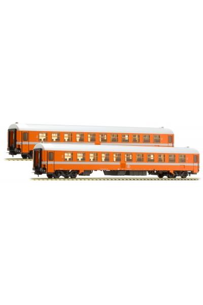 LSM 42059 Набор пассажирских вагонов B11 SNCB, Epoche IV-V 1/87