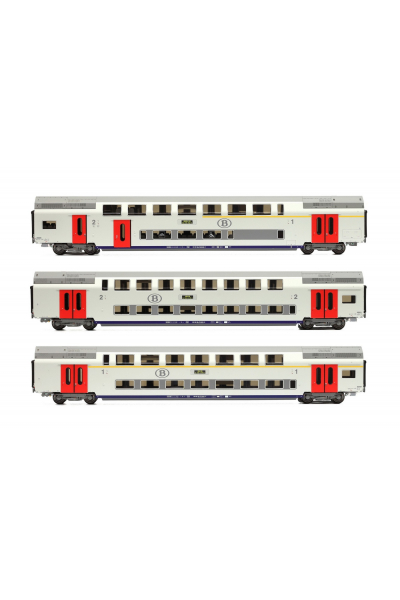 LSM 43010 Набор вагонов Type M6 SNCB Epoche V 1/87