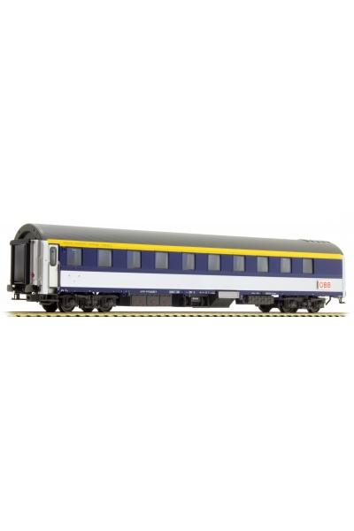 LSM 47035 Вагон пассажирский WLAB-30 inox OBB Epoche VI 1/87