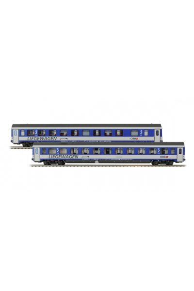LSM 47150 Набор пассажирских вагонов Bcmz 59-91.2 OBB Epoche V 1/87