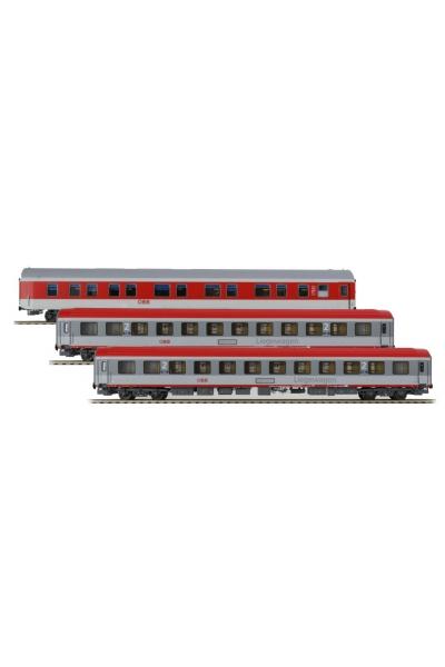 LSM 47160 Набор пассажирских вагонов OBB EpocheVI 1/87