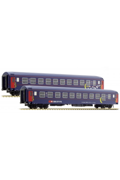 LSM 47331 Набор пассажирских вагонов Bcm Mond Sterne SBB Epoche IV-V 1/87