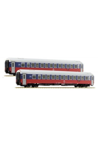 LSM 48012 Набор пассажирских вагонов WLABmee РЖД Epoche V 1/87
