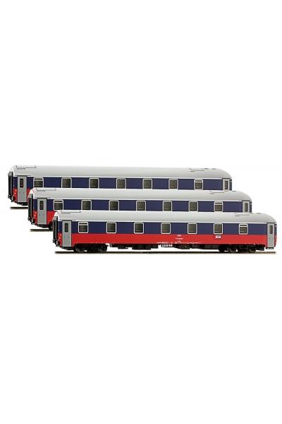 LS Models 48026 Набор вагонов МОСКВА-БЕРЛИН 2008 РЖД эпоха V