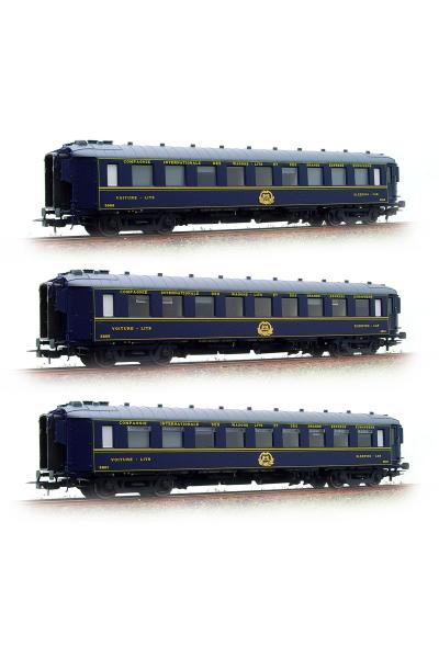 LSM 49122 Набор пассажирских вагонов Type F CIWL Epoche III 1/87