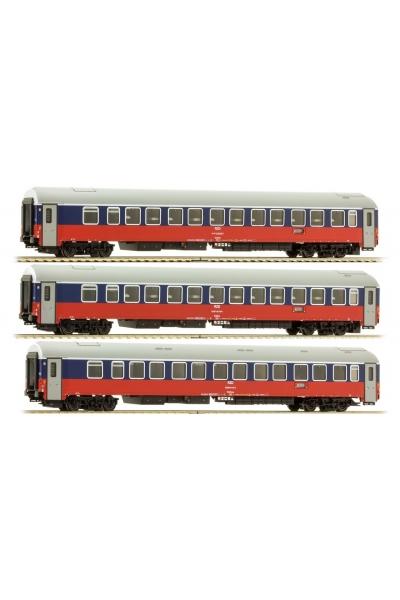 LS Models 58026 Набор вагонов WLABmee МОСКВА-БЕРЛИН 2008 РЖД эп.V 1/120