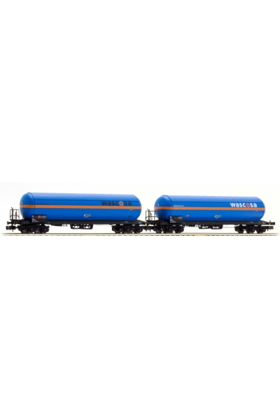 LSM 76104 Набор вагонов Uas 2шт WASCOSA DB AG Epoche IV 1/160
