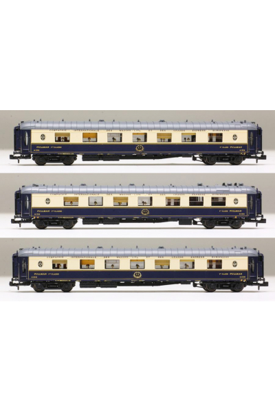 LSM 79173 Набор вагонов Cote d'Azur CIWL Epoche II-III 1/160