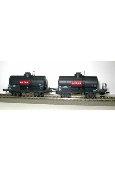 LSM 30446 Набор цистерн OCEM ANTAR SNCF Epoche IV 1/87