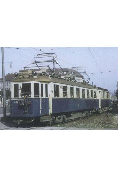 Liliput 133892 (dolischo) Трамвай Wiener Lokalbahnen AG Epoche IV 1/87