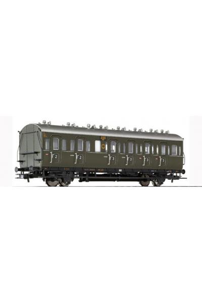 Liliput 334021 Вагон пассажирский BC-21 31005 Halle DRG Epoche II 1/87