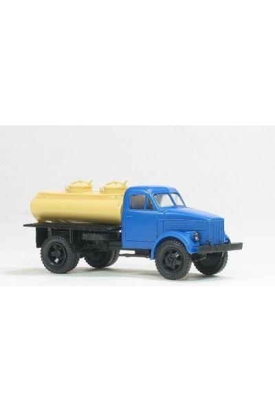 MM 36276 Автомобиль ГАЗ-51 АЦПТ-1,8 молоковоз кабина синяя 1/87