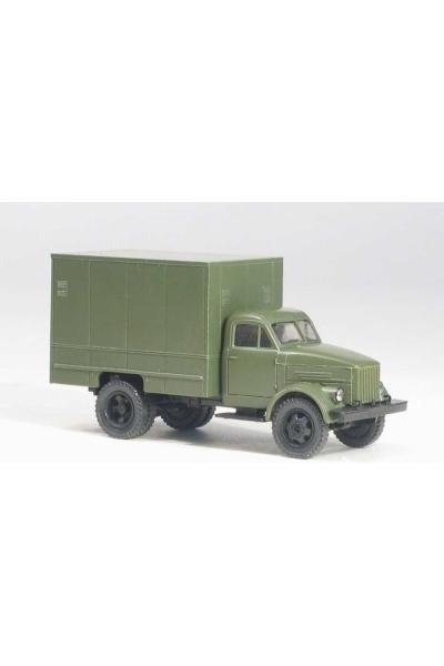 MM 37280 Автомобиль ГАЗ-51 изотермический фургон У-127 армейский 1/87