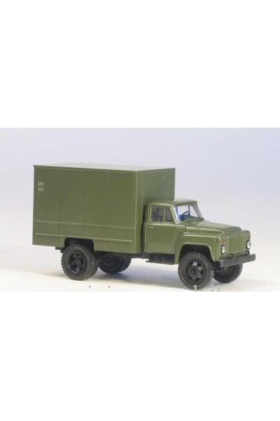 MM 37360 Автомобиль ГАЗ-52 изотермический фургон У-127 армейский 1/87