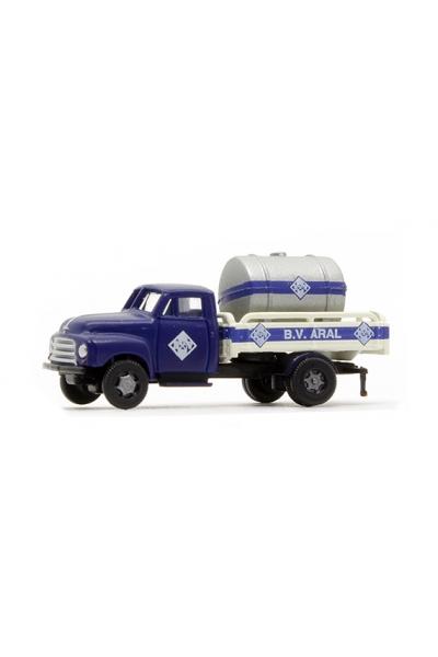 Minis 3219 Автомобиль Opel Blitz Tankwagen Aral 1/160