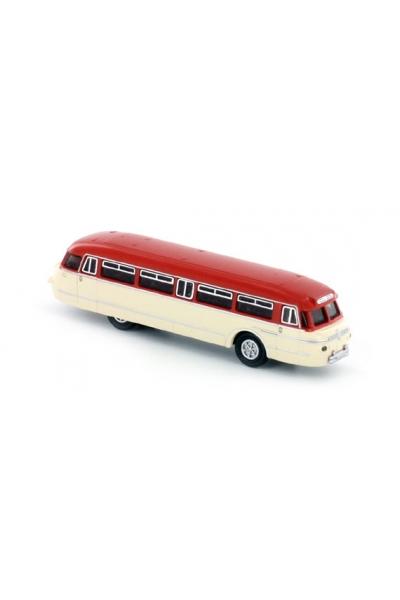 Minis 3704 Автомобиль NWF Bus verkehrsrot Wilhelmshaven 1/160